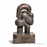 Horst Antes (German, b. 1936) Figural Sculpture (Lot 225, Estimate $1,000-1,500)