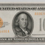 1928 $100 Gold Certificate, PCGS Extremely Fine 45, Fr. 2405 (Estimate $1,000-1,500)