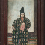 Portrait of a Princely Man, Persia, 19th century (Lot 5, Estimate $800-1,200)