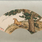 Fan Painting Depicting a Horse, China (Lot 502, Estimate $2,000-3,000)