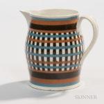 Creamware Slip-decorated Creamer, England, c. 1800 (Lot 26, Estimate $600-800)