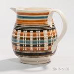 Pearlware Jug, England, c. 1790 (Lot 20, Estimate $800-1,200)