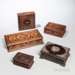 Collection of Trinket Boxes (Estimate $400-600)