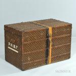 Louis Vuitton Steamer Trunk (Lot 556, Estimate $3,000-5,000)