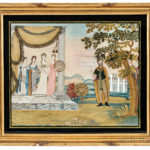 Painted Silk and Needlework Picture 'Jeptha's Rash Vow,' Misses Pattens' School, Hartford, Connecticut, c. 1810 (Lot 138, Estimate $5,000-7,000)