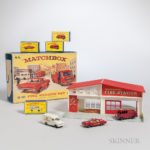 Large Collection of Lesney Matchbox Cars and Accessories (Estimate $1,500-2,500)