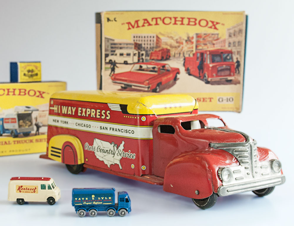 Selection of Vintage Matchbox Toys On Offer