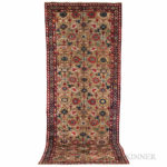 Northwest Persian Gallery Carpet, Iran, c. 1850 (Lot 160, Estimate $7,500-8,500)