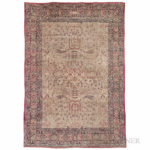 Antique Lavar Kerman Carpet, Eastern Iran, c. 1890 (Lot 173, Estimate $6,000-7,000)