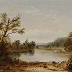 John La Farge (American, 1835-1910)  On the Bayou Teche, Louisiana (Lot 251, Estimate $70,000-90,000)