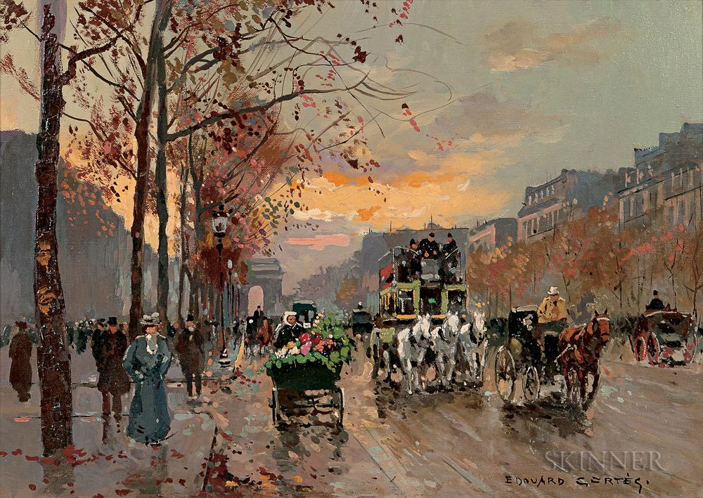 Edouard Léon Cortès (French, 1882-1969)  L