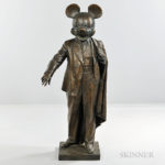 Alexander Kosolapov (Russian/American, b. 1943)  Mickey-Lenin (Lot 434, Estimate $25,000-35,000)