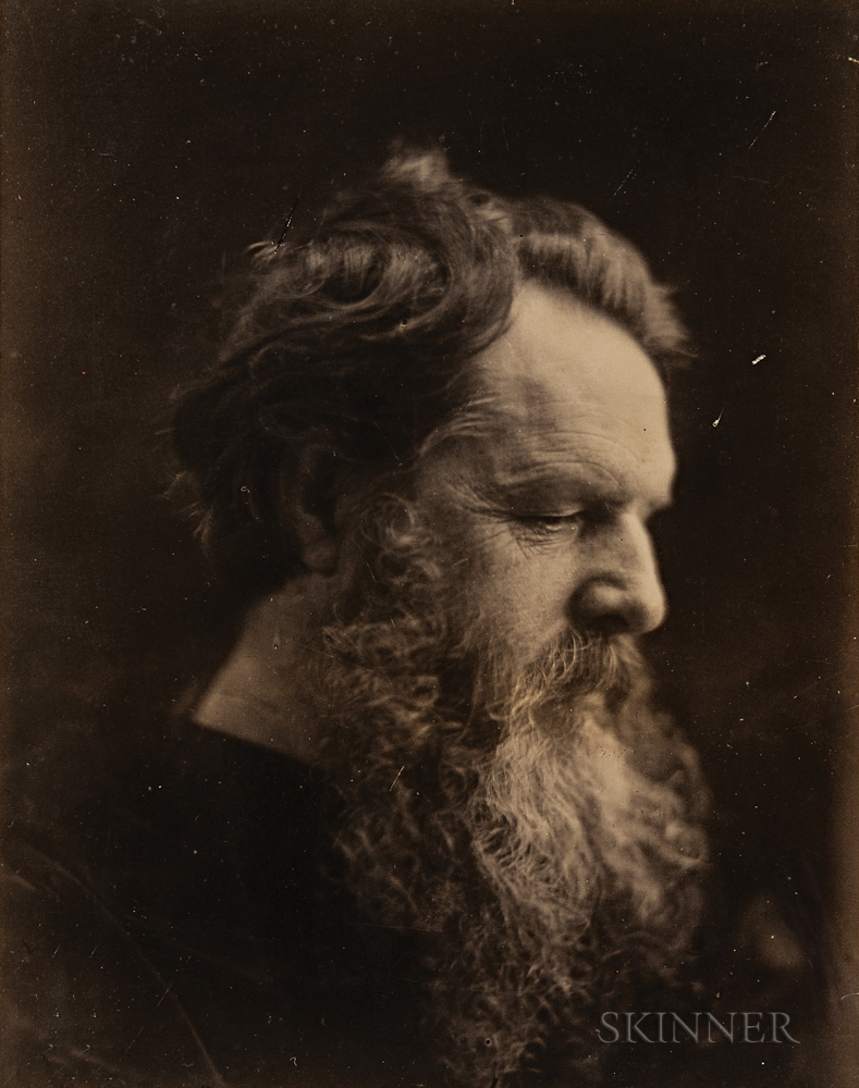 Julia Margaret Cameron (British, 1815-1879)  James Thomas Fields, 1869 (Lot 94, Estimate $1,500-2,500)