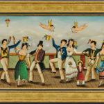 Ralph Cahoon (Massachusetts, 1910-1982)  A Sailor's Wedding Party (Lot 141, Estimate $8,000-12,000)