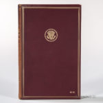 John F. Kennedy (1917-1963) Inaugural Addresses of the Presidents, Signed Presentation Copy, 1961. (Lot 345 est. $4,000-6,000)