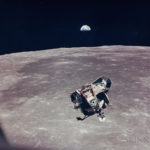 LM 'Eagle' and Earthrise, Apollo 11, July 1969 (Estimate $4,000-6,000)