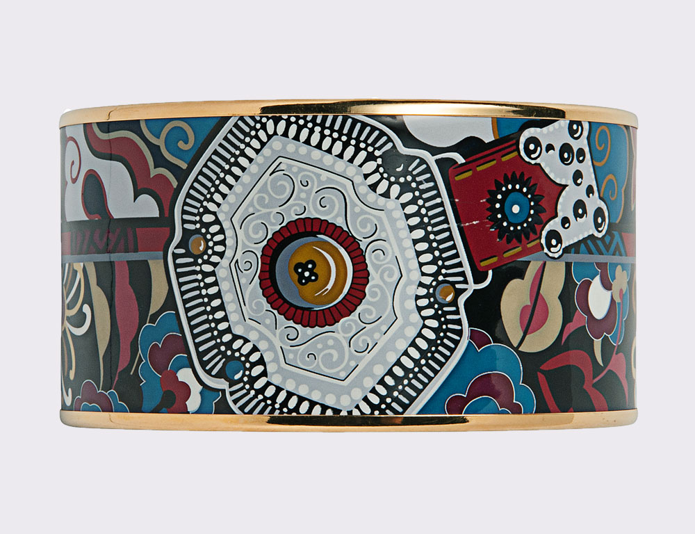 Enamel Bracelet, Hermes (Estimate $250-350)