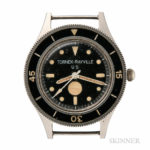 Tornek-Rayville TR-900 Dive Watch, c. 1965 (Lot 27, Estimate $30,000-50,000)