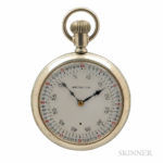Hamilton Vernier Seconds Dial '974' Open-face Watch, Lancaster, Pennsylvania, no. 2413108 (Lot 79, Estimate $500-700)