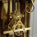 [DETAIL] Charles Fasoldt Single-arm Gravity Escapement Regulator, made for Henry J. Martin, Albany, New York, 1873 (Lot 125, Estimate $60,000-70,000)