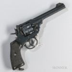 Webley Mark IV Double-action Revolver, 20th century (Lot 285, Estimate $300-500)