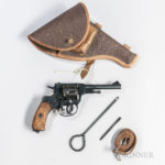 Nagant Model 1895 Double-action Revolver, 20th century (Lot 1503, Estimate $150-250)