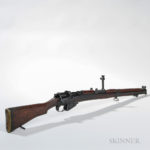 Short Magazine Lee-Enfield Mark III Bolt-action Rifle, c. 1916 (Lot 1557, Estimate $200-300)