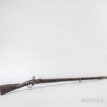 American-made Musket with French Parts, c. late 18th century (Lot 1422, Estimate $1,000-1,500)