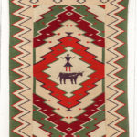 Navajo Germantown Pictorial Weaving