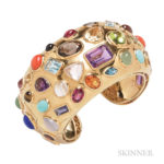 18kt Gold Gem-set Fifties Bracelet, Seaman Schepps, Estimate: $6000-8000
