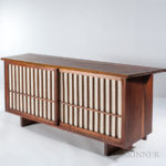 George Nakashima Cabinet, (Lot 354, Estimate: $15,000-25,000)