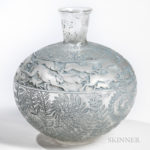 Rene Lalique Lievres Vase, (Lot 228, Estimate: $2,500-3,500)