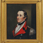 John Trumbull, oil on panel, Portrait of Brigadier General Ebenezer Huntington, (Lot 35, $4,000-6,000)