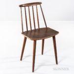 Folke Palsson for FDB Møbler Dining Chair, Denmark, c. 1960, (Lot 1292, Estimate: $100-150)