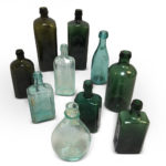 Ten Patent Medicine Bottles (Lot 460, Estimate: $100-150)