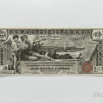 1896 $1 Silver Certificate Educational Note, Fr. 224 (Lot 1523, Estimate: $600-800)