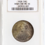 1928 Hawaiian Commemorative Half Dollar, NGC MS66 (Lot 1078: Estimate $3,000-5,000)