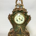 Tiffany & Co. Ormolu-mounted Mantel Clock, New York, c. 1890, (Lot 1005, Estimate $500-1,000).