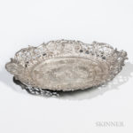 German .930 Silver Dish,  early 20th century (Lot 2370, $250-350)