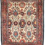 Halvai Bidjar Rug, Western Iran, c. 1870 (Lot 41, Estimate: $4,000-6,000)