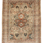 Silk Tabriz Rug, Northwestern Iran, c. 1890 (Lot 47, Estimate: $4,000-5,000)
