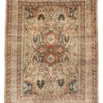Silk Tabriz Rug, Northwestern Iran, c. 1890 (Lot 47, Estimate: $4,000-5,000)