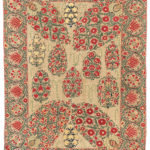Nurata Suzani, Central Asia, c. first half 19th century (Lot 69, Estimate: $3,000-3,500)