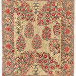 Nurata Suzani, Central Asia, c. first half 19th century (Lot 69, Estimate: $3,000-3,500)