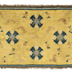 "Ningsha ""Altar"" Rug, Western China, c. 17th/18th century (Lot 89, Estimate: $3,000-4,000)"
