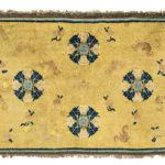 "Ningsha ""Altar"" Rug, Western China, c. 17th/18th century (Lot 89, Estimate: $3,000-4,000)"