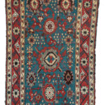 Avar Rug, Northern Caucasus, c. 1850 (Lot 120, Estimate: $2,000-2,500)