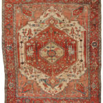 Serapi Carpet, Northwestern Iran, c. 1890 (Lot 131, Estimate: $8,000-10,000)