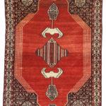 Senneh Rug, Western Iran, c. 1900 (Lot 141, Estimate: $800-1,200)