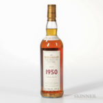 The Macallan Fine & Rare 1950 (Lot 1794, Estimate: $12,000-15,000)